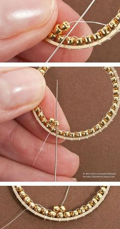 Brick Stitch Earring Tutorial