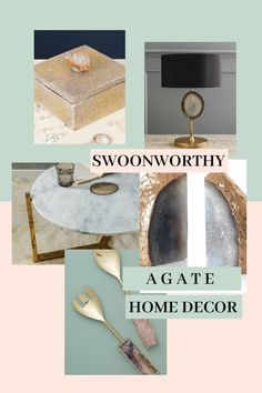 Lovely Agate Home Decor 74 With Additional Inspiration To Remodel Home with Agate Home Decor Design Your Home, House Design, Interior Inspiration, Design Inspiration, Gilded Edge, Crystal Palace, Bedroom Themes, Fashion Room, Diy Kitchen