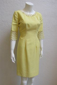 1960's Claralura Original California Yellow by MTvintageclothing