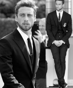 The most stylish football players Claudio Marchisio, Imaginary Boyfriend, Best Black, Flawless Skin, Celebrity Look, Man Crush, Hot Boys, Football Players, Male Models
