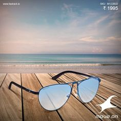 Here's to mid-week getaways #Sunglasses #Fastrack #Blue #Fashion #Summer www.fastrack.in/products/sunglasses