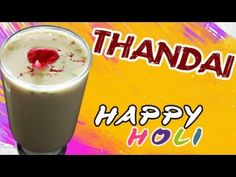 Thandai Recipe -- Happy Holi Traditionally associated with festivals like Mahashivratri and Holi, thandai is a chilled almond-flavoured Sweet & Spicy beverage and is terrific for when the tempratures soar. Its tasty and cools you down! So make sure you make this superb recipe. Like, Comment & Share this wonderful recipe and surely make it for holi.