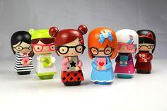 momiji are message dolls