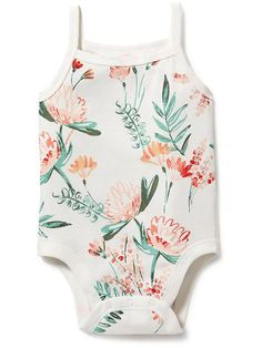 Printed Tank Bodysuit for Baby