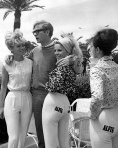 Vintage Cannes Slideshow: Brigitte Bardot, Jane Birkin, David Bowie, and More -- The Cut OMG Michael Caine. So fucking suave. Mariel Hemingway, Brigitte Bardot, Tom Cruise, Vintage Hollywood, Classic Hollywood, Beatles, Charlotte Rampling, Palais Des Festivals, Cult