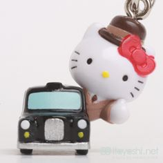 itoyoshis Gotochi Kitty collection NO.1622 United Kingdom of Great Britain and Northern Ireland ・London Limited  London Taxi
