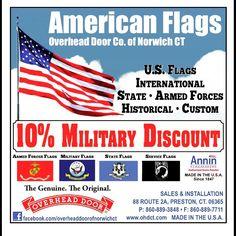 Flag coupon