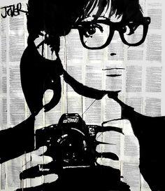 selfie by Loui Jover #art