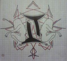 Gemini Tattoo by dcretch57 on @DeviantArt