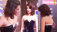Priyanka Chopra, Sunny Leone, Sonam Kapoor, Sonakshi Sinha, Aditi Rao, Ranveer Singh and Shahid Kapoor at Red Carpet Of Renault Sony Guild Film Awards 2015. Priyanka Chopra, who garnered much praise for her performance in Bajirao Mastani, was dressed to kill in a monochrome Alexis Mabille strapless gown. Priyanka Chopra received a special award for her performance in Quantico.   Click Here For Hot Sexy Beauty Babes…