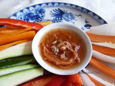 nuoc cham (vietnamese dipping sauce to go with pickled veggies, vietnamese grilled chicken and vermicelli)