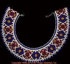 AllThingsUkrainian.com gherdany Bead Jewelry  # GIN15144