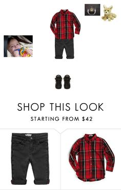 """""""Elijah"""" by susannah-biersack ❤ liked on Polyvore featuring Little Marc Jacobs, Hartstrings, BUSCEMI, men's fashion and menswear"""