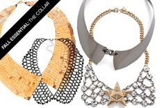 Fall Essential: The CollarNecklace http://news.stylecaster.com/fall-essential-collar-necklace