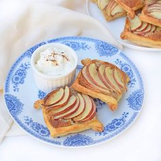 New recipe! Easy Apple and Hazelnut Frangipane Tarts. These are quick to make and use only a little rice malt syrup as a sweetener, so they are #IQS friendly. BUT they are rather moreish - and very much a treat! #dreamingofalmonds