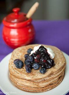 E para se dar um presente delicioso no fim de semana, que tal estas panquecas integrais?   Sete ideias de cafés da manhã mais saudáveis para esta semana