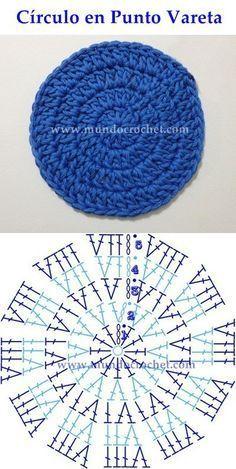 como tejer un circulo perfecto a crochet o ganchillo 10