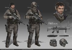 Cougar Squad 2 (Recon team), Wei Huai Xu