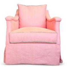 Apricot Fringe Swivel Chair - Furbish Studio