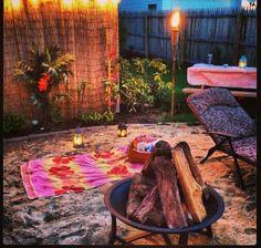 My backyard beach:) #scentsyhoneymoon