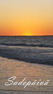 Sadepäivän pisaroita Celestial, Sunset, Beach, Water, Outdoor, Sunsets, Water Water, Aqua, Outdoors