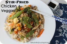 Yummy Healthy Easy: Stir-Fried Chicken & Vegetables