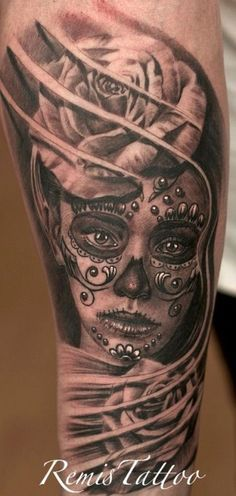 Sexy Day of the Dead Tattoos - Bing Images