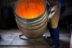 Van Ryn's Cooper making a barrel
