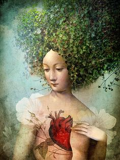"""The Day I lost my Heart"" Picture by Catrin Welz-Stein posters, art prints, canvas prints, greeting cards or gallery prints. Find more Picture art prints and posters in the ARTFLAKES shop. Surrealism Painting, Pop Surrealism, Art And Illustration, Art Fantaisiste, Heart Poster, Illustrator, Art Antique, Wassily Kandinsky, Heart Art"