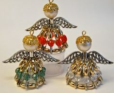 Pin Angels from Bead Shack for Xmas in July in Melbourne