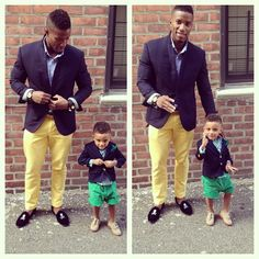 .Father and Son too...cute