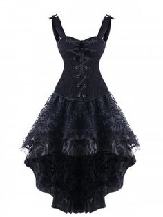 Rosewholesale welcomes customers worldwide, offering them best customer service and large collection of high quality products at cheap price. Cute Dresses, Beautiful Dresses, Emo Dresses, Pretty Outfits, Cool Outfits, Edgy Dress, Dress Black, Gothic Outfits, Vintage Style Dresses