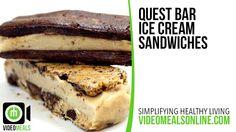 Quest Bar Ice Cream Sandwiches