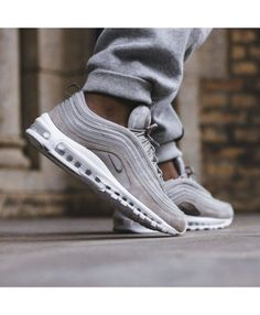 online store bc33a 7d7fe Nike Air Max 97 Cream Trainers Sale