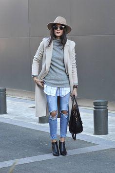 chemise à carreaux tendance mode 2016