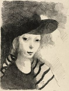 Marie Laurencin Self-Portrait. 1927 г.