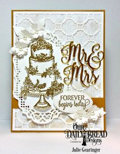 Stamping with Julie Gearinger: Welcome to the June 2017 Our Daily Bread Designs Release!
