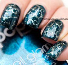 Nail Art - Swirls - http://yournailart.com/nail-art-swirls/ - #nails #nail_art #nails_design #nail_ ideas #nail_polish #ideas #beauty #cute #love