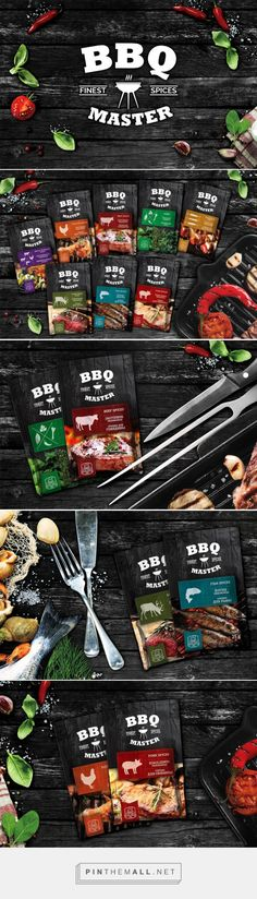 BBQ Master- Sauce packaging Inspiration