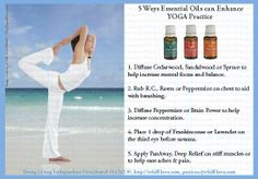 5 ways Young Living essential oils enhance yoga practice.