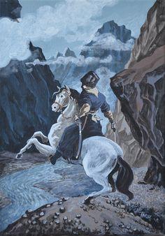 #chechen,#circassian,#caucasus,#caucasian,#painting,#art