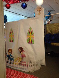 Office nativity and church Office Christmas, Nativity, The Nativity, Birth
