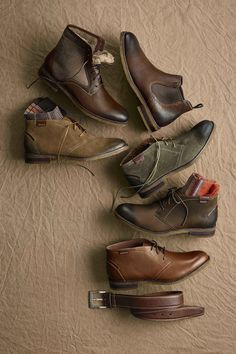 Boots with vintage sole. #johnstonmurphy