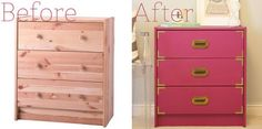 Turn an ordinary cheap dresser into something beautiful!!