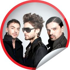 Thirty Seconds to Mars Fan...Love this band? Make sure you check-in with GetGlue.com for exclusive stickers!