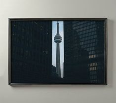 CN TOWER TORONTO, Architecture Photography, Skyscraper, Urban, Fine Art Photography, Modern Art, Apa