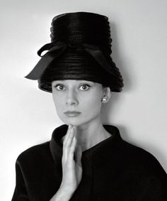 Audrey Hepburn photographed by Cecil Beaton, 1960.
