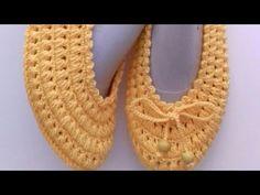 My new model in babet booties (adaptation is mine) # patikmodelleri # babetpatik # patik Knit Vest Pattern, Crochet Shoes Pattern, Shoe Pattern, Crochet Patterns, Crochet Slipper Boots, Crochet Slippers, Crocodile Stitch, Crochet Videos, Christmas Knitting