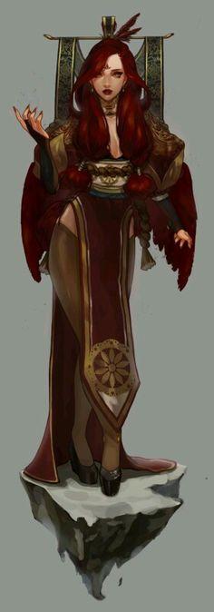 Female Empress Character