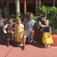 With my pirates and princesses. #DisneyWorld by noahgallowayathlete